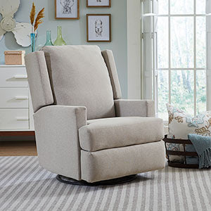 Storytime Series AINSLEY Swivel Glider/Recliner by Best Chairs