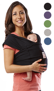Baby K'Tan Original Carrier - Bibs and Binkies - 1