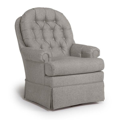 Storytime Series BECKNER Swivel Glider by Best Chairs - Bibs and Binkies