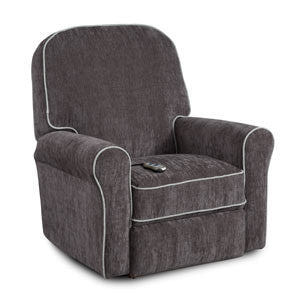 Storytime Series BENJI Swivel Glider/Power Rocker Recliner by Best Chairs - Bibs and Binkies