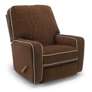 Storytime Series BILANA Swivel Glider/Power Rocker Recliner by Best Chairs - Bibs and Binkies