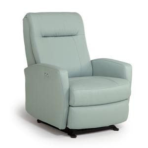 Storytime Series COSTILLA Swivel Glider/Power Rocker Recliner by Best Chairs - Bibs and Binkies