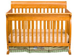 Davinci Kalani 4-in-1 Convertible Crib w/Toddler Rail - Bibs and Binkies - 17