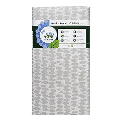 Healthy Support Lightweight Crib Mattress by Lullaby Earth - 1 SIDED