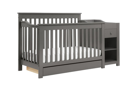 Piedmont 4-in-1 Crib and Changer Combo