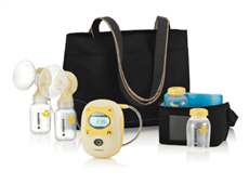 Medela Freestyle Double Electric Breast Pump - Bibs and Binkies - 1
