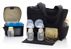 Medela Pump In Style Advanced Breast Pump - On the Go Tote - Bibs and Binkies