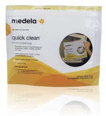 Medela Quick Clean Micro Steam Bags - Bibs and Binkies