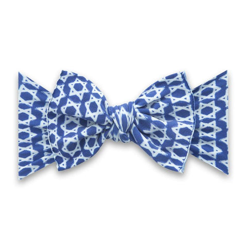Printed Knot Bow - Shalom