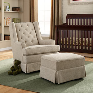 Storytime Series NIKOLE Swivel Glider by Best Chairs