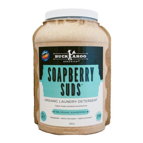 Buckaroo Organics Soapberry Suds Laundry Detergent - Bibs and Binkies - 1