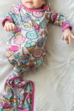 Sweet Treats Bamboo Viscose Infant Knotted Gown