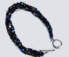 Midnight Blue Spiral Rope Bracelet Kit