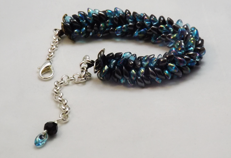 Blue Catch the Wave Bracelet