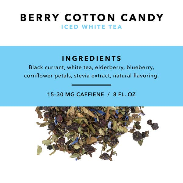 Berry Cotton Candy Loose Leaf Iced Tea