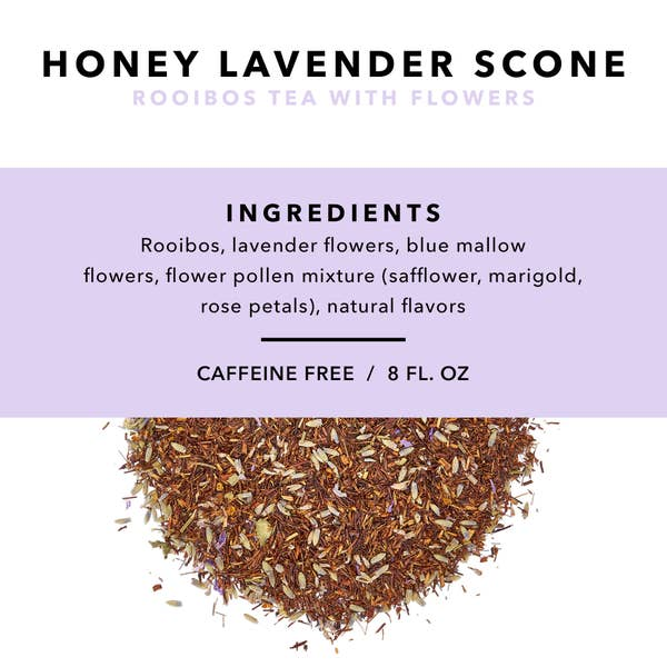 Honey Lavender Loose Leaf Tea
