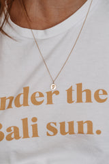 Symbol Pebble Necklace - PALM