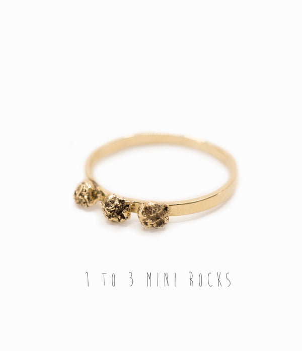 Mini Rocks Ring