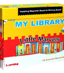 MY FIRST LIBRARY - LITTLE MARVELS ENGLISH