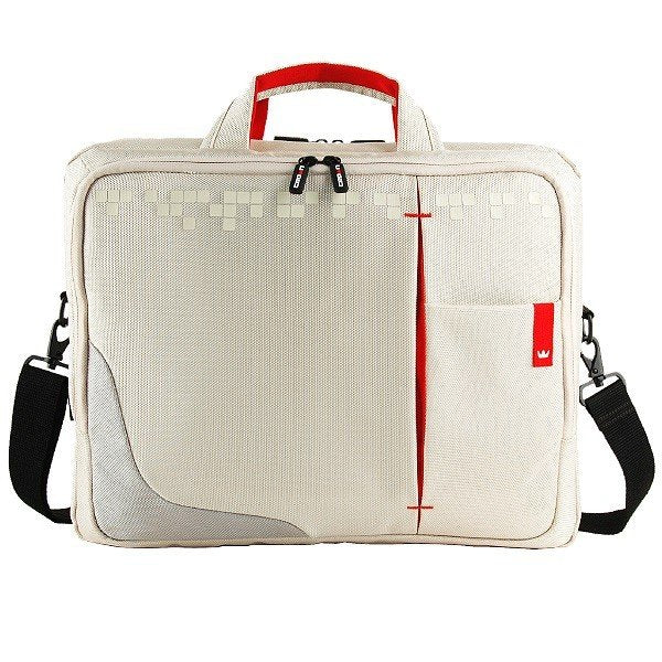 "Laptop Bag Crown Genuine 15.6 "" White"