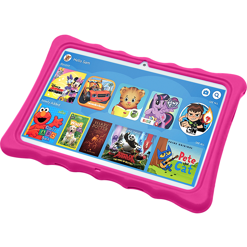 "Wintouch  K11 Kids E-learning Tablet (Call Support Dual Sim+ 10.1"" inch IPS LCD + 1 GB RAM + 16 GB ROM)"