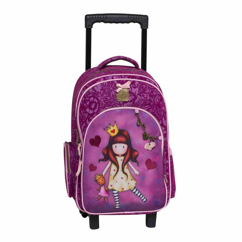 "TROLLEY BAG 17"" GORJUSS-PRINCESS"