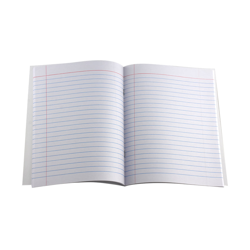 EXERCISE BOOK SINGLE LINE W/LEFT MARGIN 100 PAGES