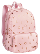 BACK PACK 47CM LOVE PINK
