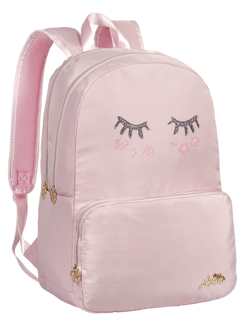 BACK PACK 47CM CUTE FACE PINK