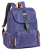 BACK PACK 42CM W/FLAP NAVY