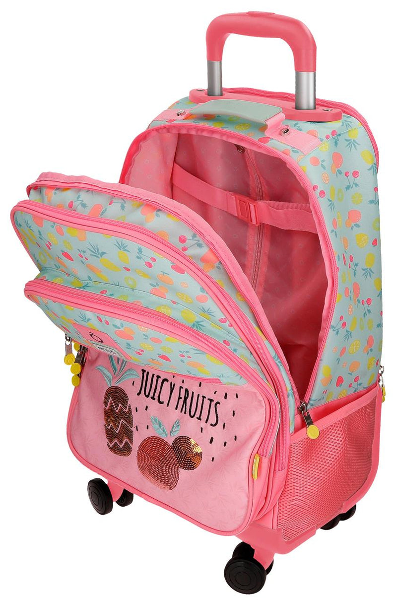 TROLLEY BAG 4 WHEEL JUICY FRUITS