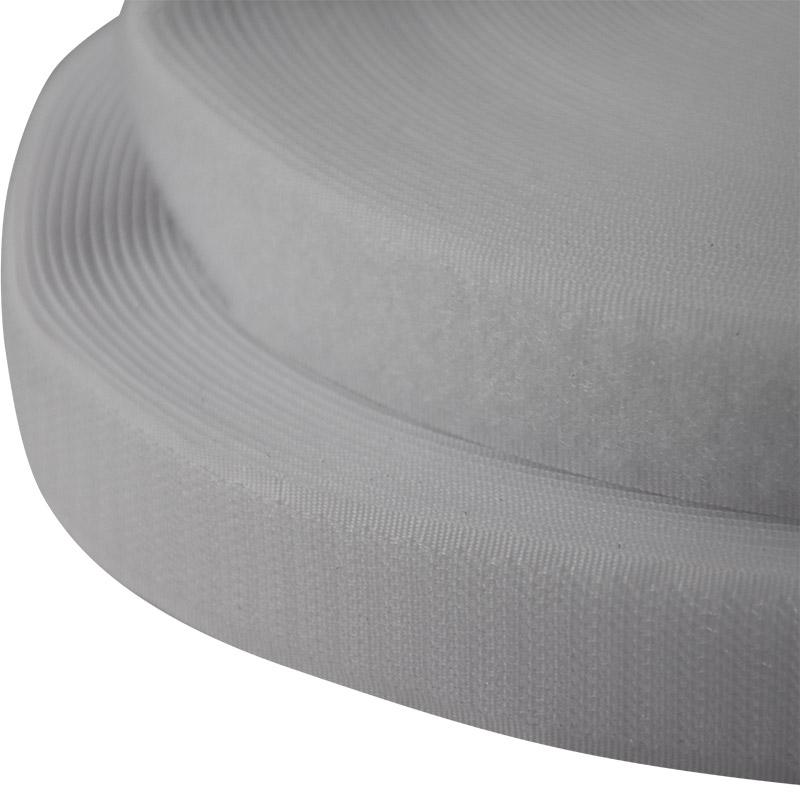 Hook & Loop 25Mm White Velcro