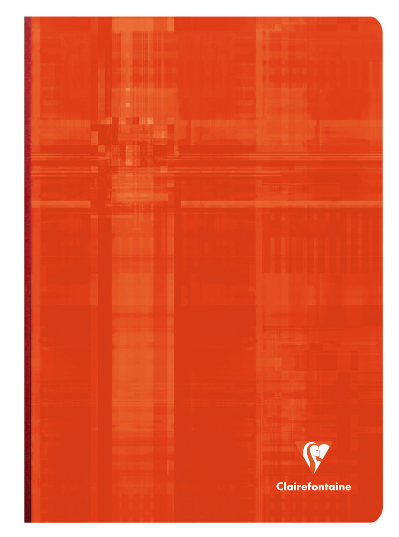Clairefontaine-Notebook Cloth Bound A4 Lined 96 Sheet-9146T