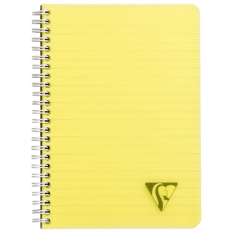 Clairefontaine-Linicolor Spiral Note Book A5 8mm Ruled 90 Sheet-328546