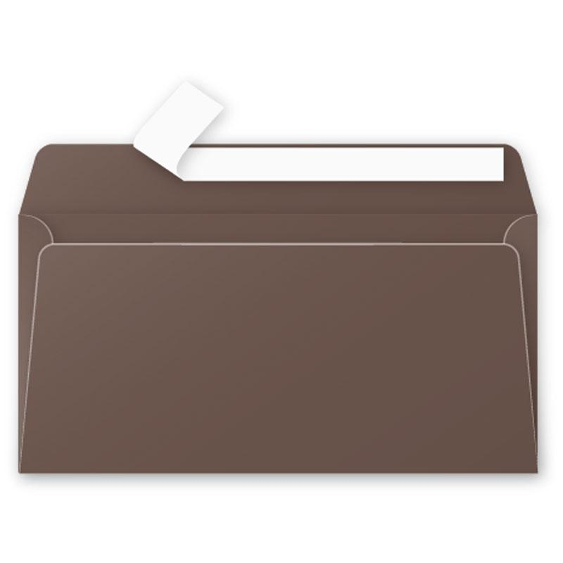 Envelop Pollen 110x220mm 120g 20 Pieces Pack-Taupe Brown-5875