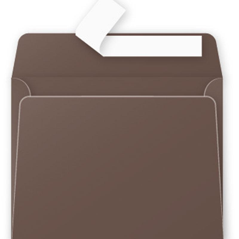 Envelop Pollen 90x140mm 120G Taupe Brown 20 Pieces Pack-5871