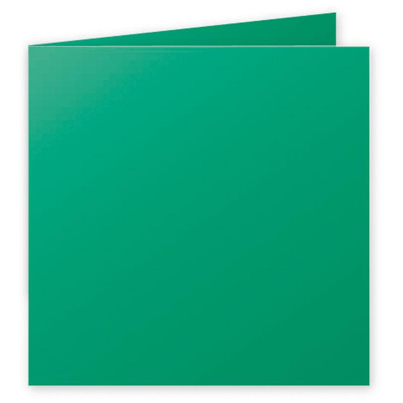 Folded Card Pollen 210G 160x60 mm Forest Green 25 Pieces Pack-2154