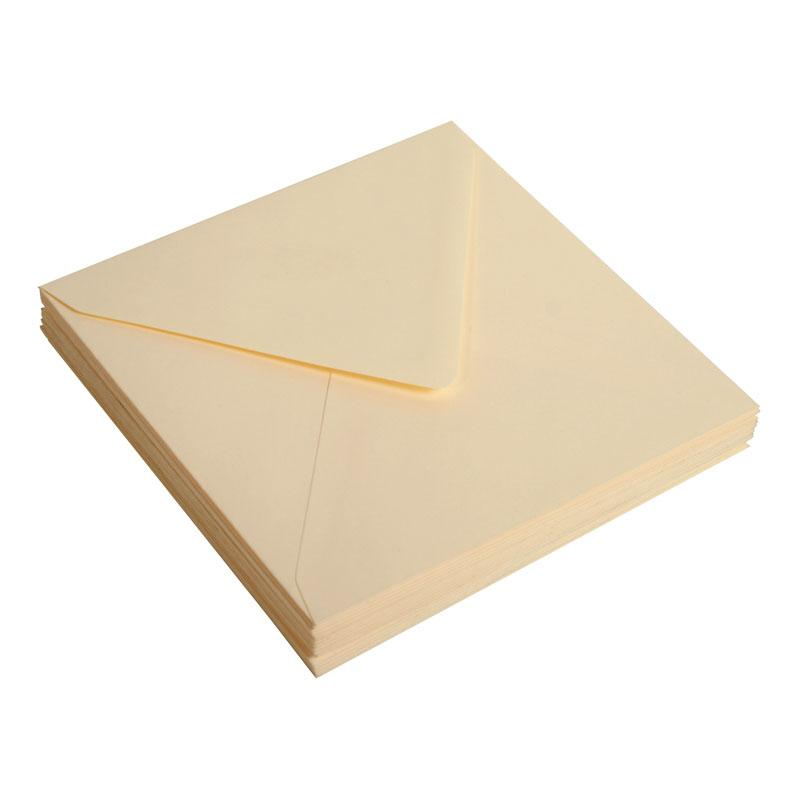 Envelop Pollen 140 mm x 140 mm 120G Cream