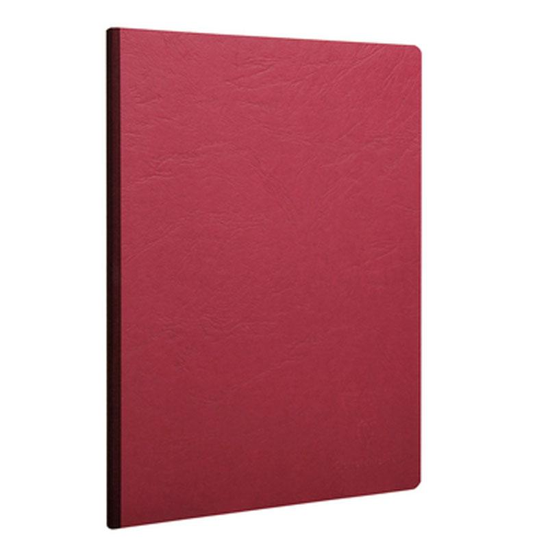 Notebook Cloth Bind A4 96S Red