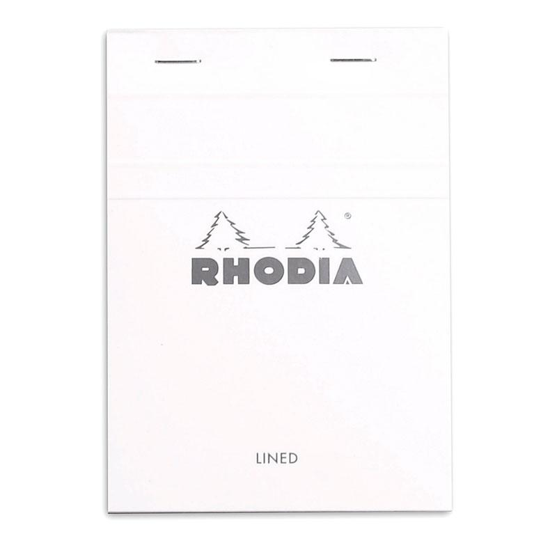 Writing Pad A6 80S Rhodia White