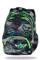 Back Pack Badges Boys Grey-B16150