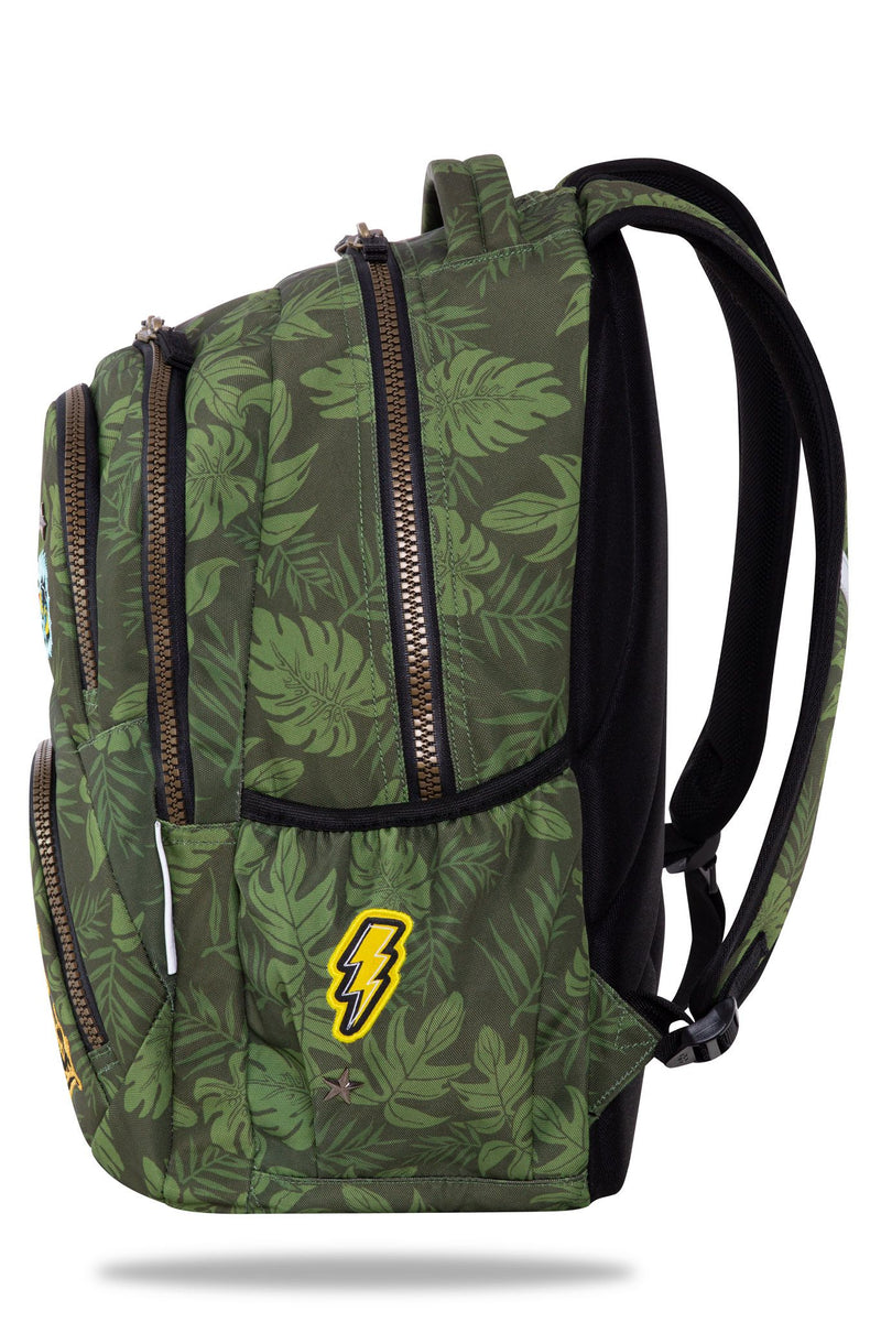 Back Pack Badges Girls Green-B19157