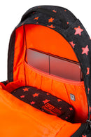 Back Pack Orange Stars-C19135
