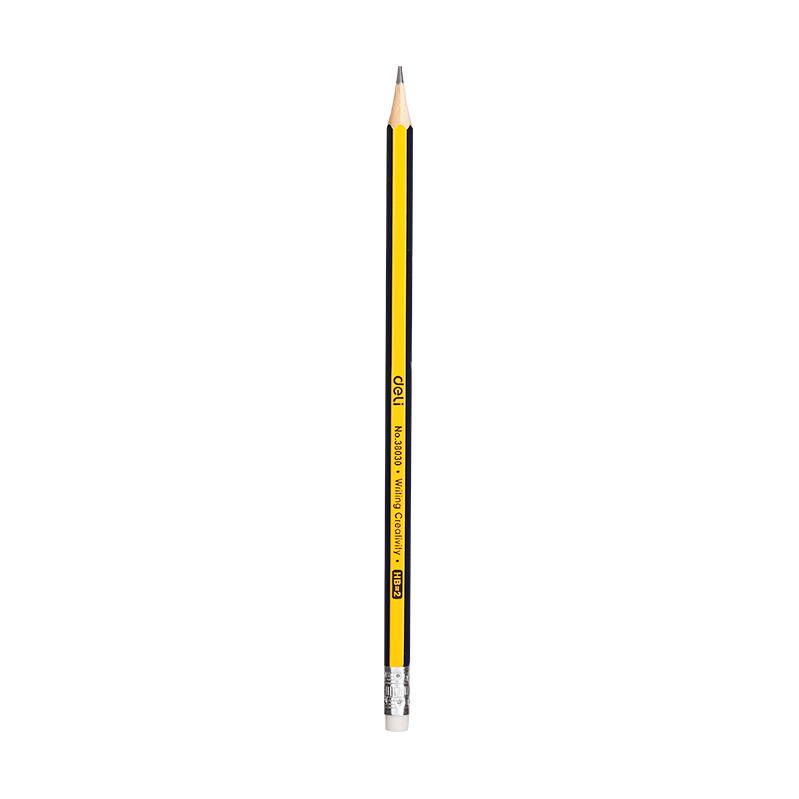 Pencil HB With Eraser 12pcs pack-38030
