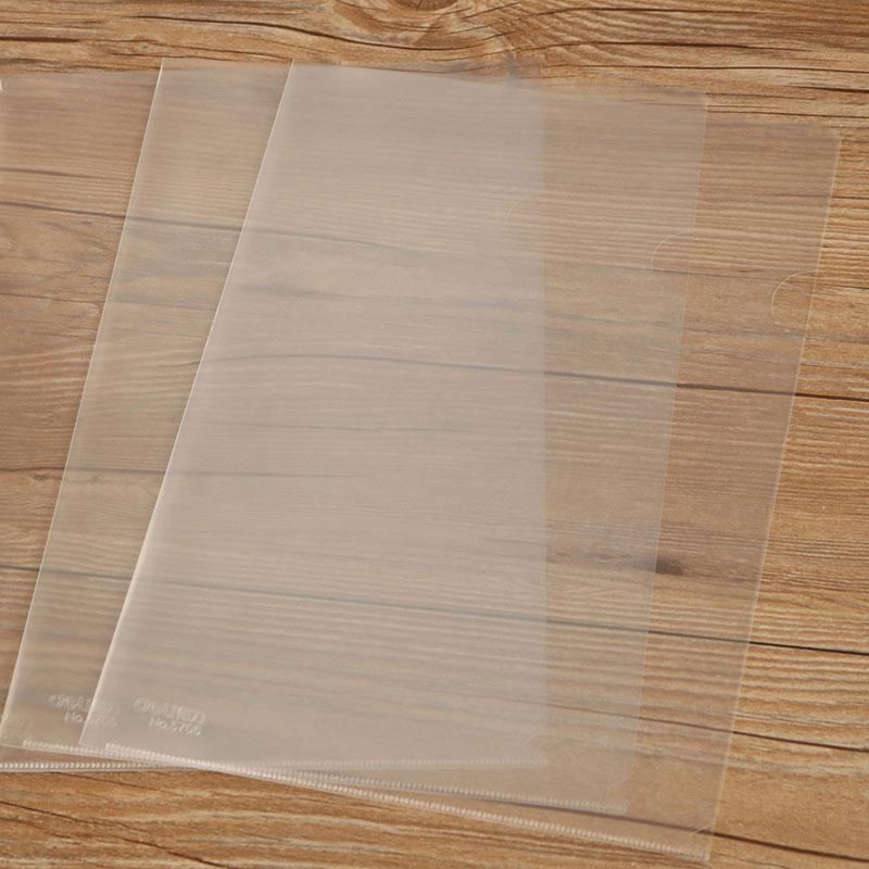 Clear File A4 L Folder 5706 - 10 Pieces Pack