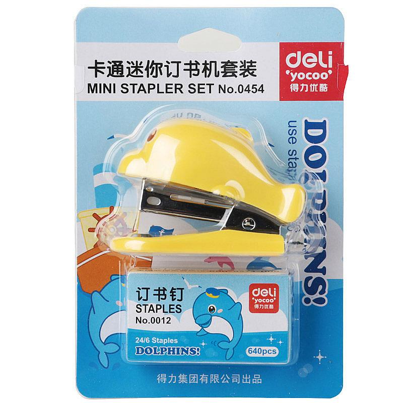 Stapler Mini With Pin 24/6 Dolphin 0454