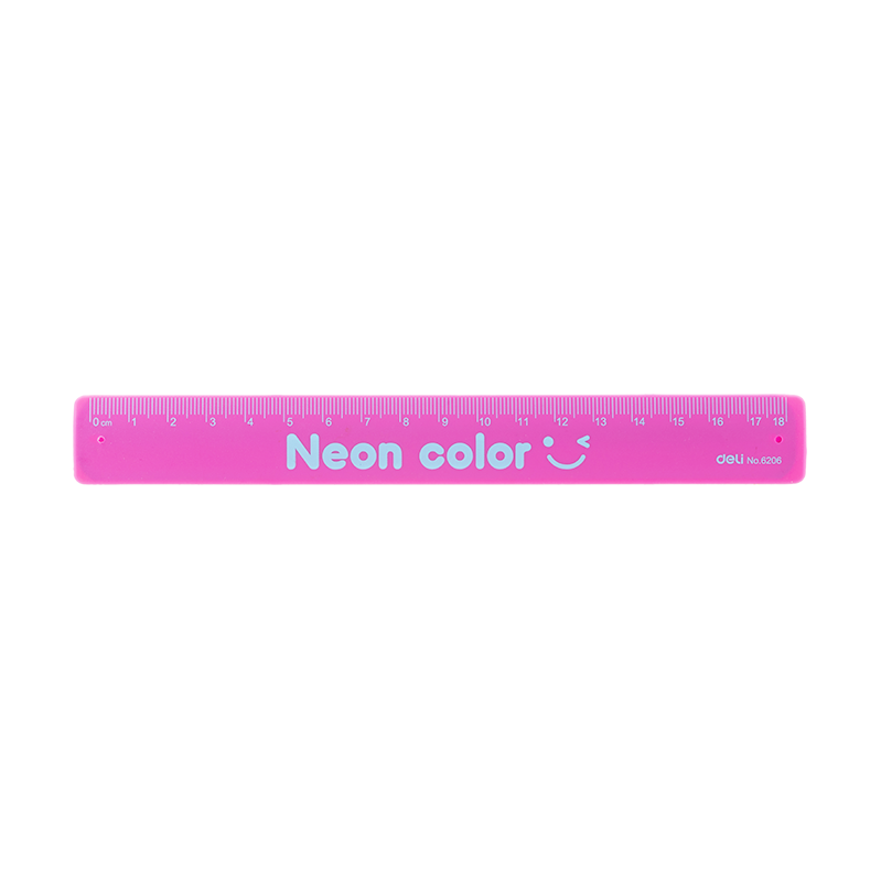 Ruler Flexible 17cm Assorted Color-6206