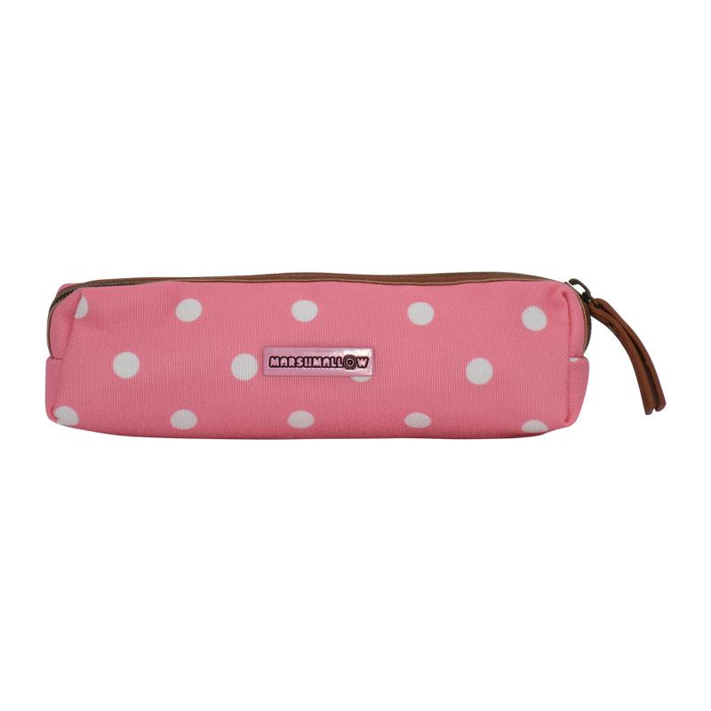 Pencil Case Marshmallow Dots Stripes