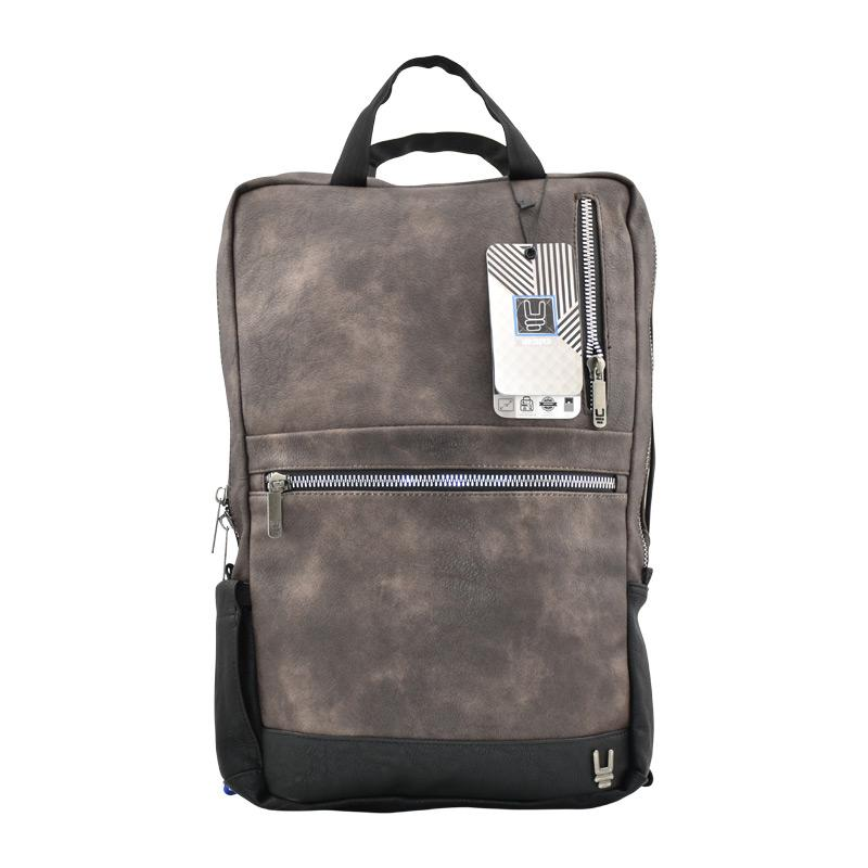 Laptop Bag Heritage Men Leather Brown