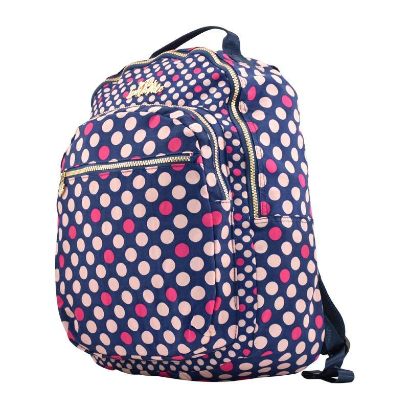 Back Pack Miss Lemonade Pink Dots